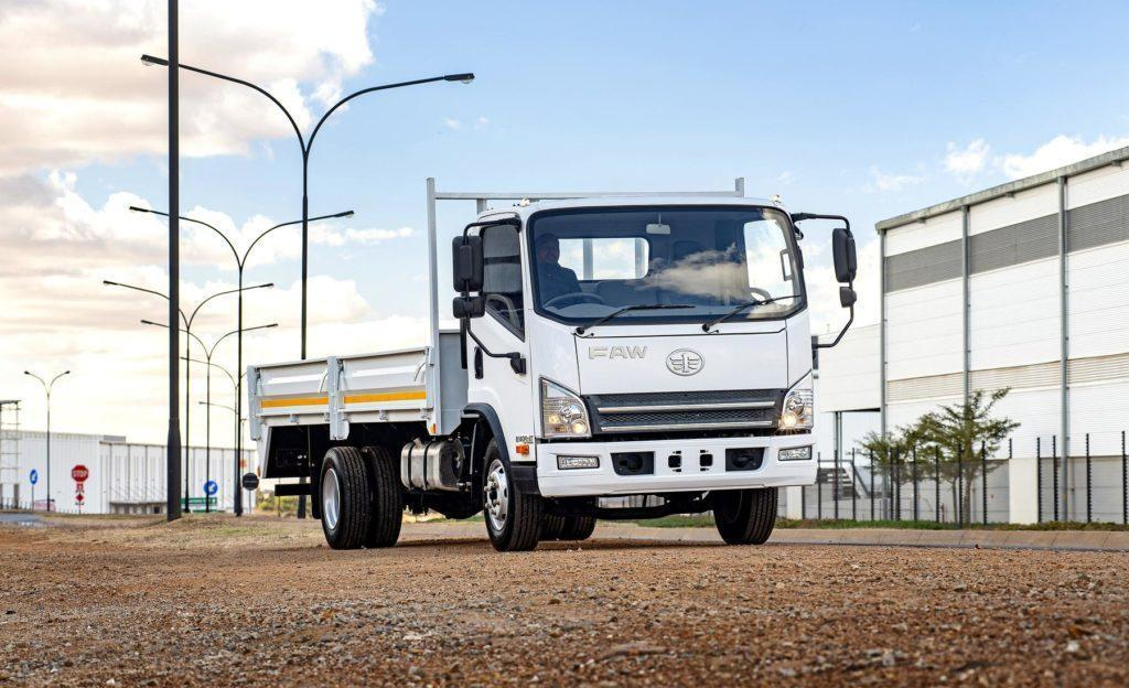 FAW Trucks Expands Popular 8.140fl Offering With The Addition Of An Automatic Transmission