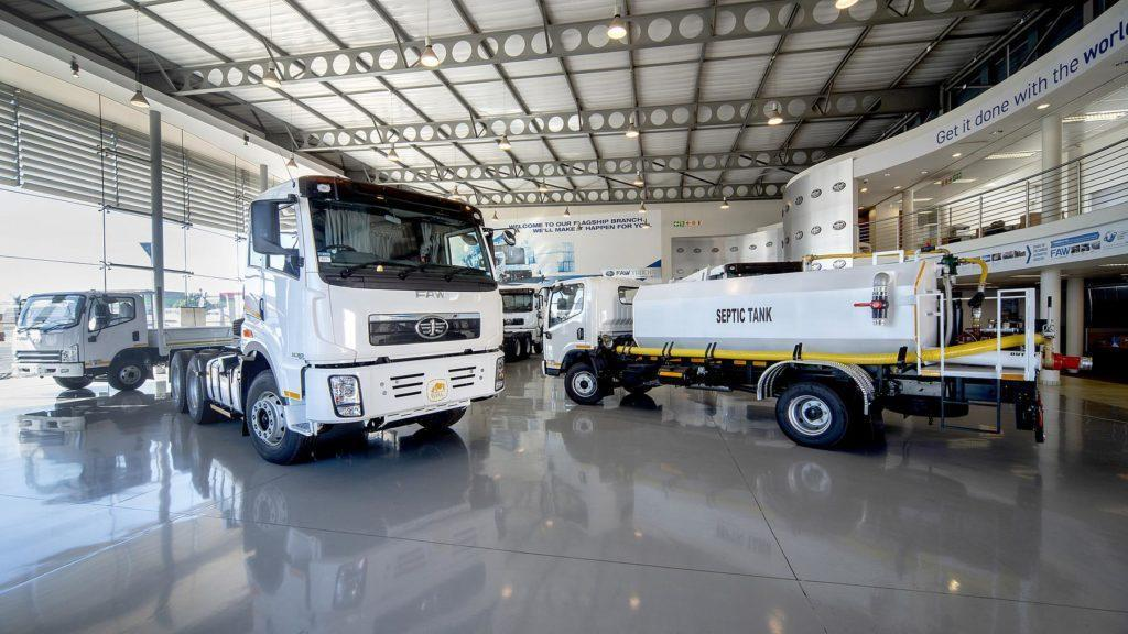 Dedicated dealer and service network forms the backbone of FAW Trucks in Southern Africa