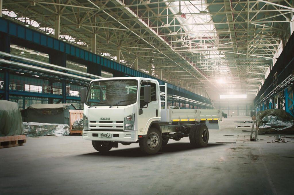 Isuzu Trucks Ready to Work from Day One